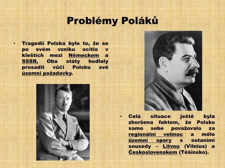 Problémy Poláků