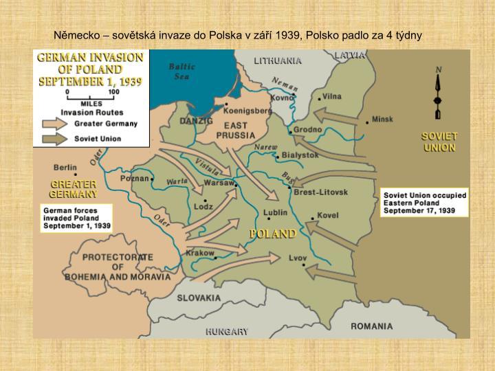 Německo – sovětská invaze do Polska v září 1939, Polsko padlo za 4 týdny