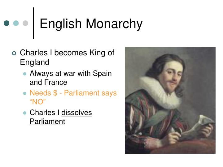 Charles I becomes King of England