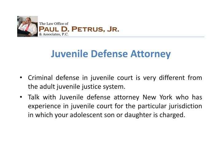 Juvenile Defense Attorney