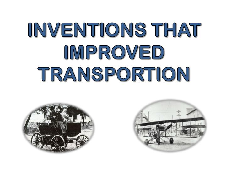 Inventions That Improved
