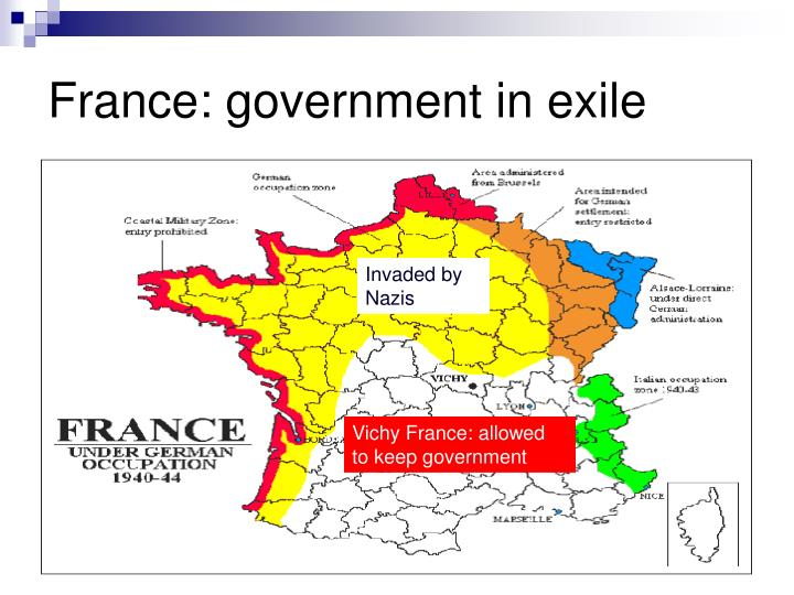 France: government in exile