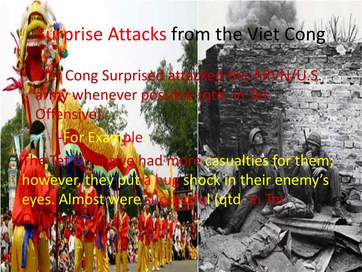 Surprise Attacks