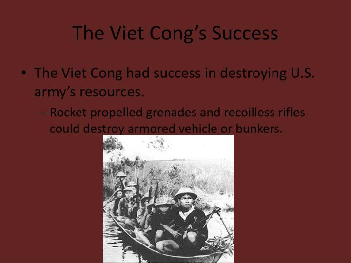 The Viet Cong's Success