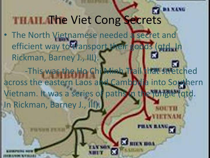 The Viet Cong Secrets