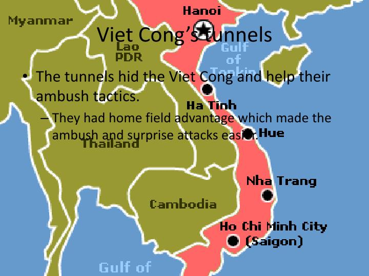Viet Cong's tunnels