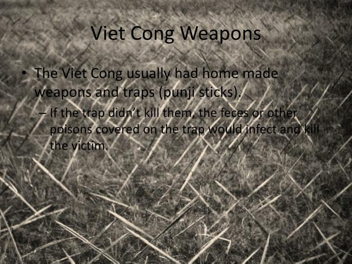Viet Cong Weapons