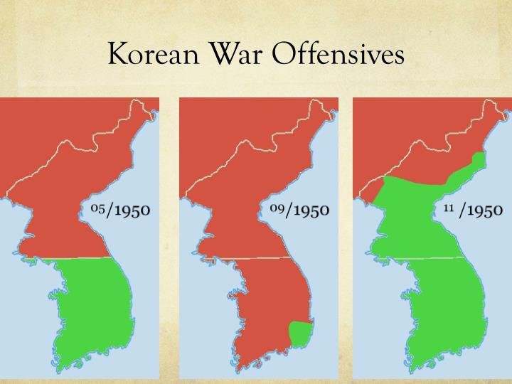 Korean War Offensives