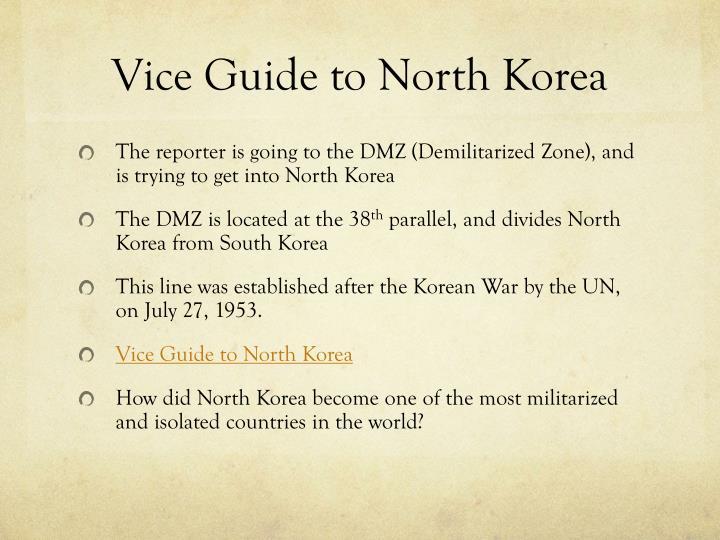 Vice Guide to North Korea