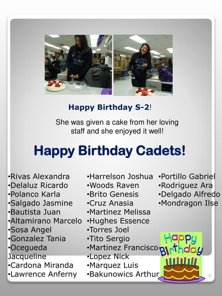 Happy Birthday S-2