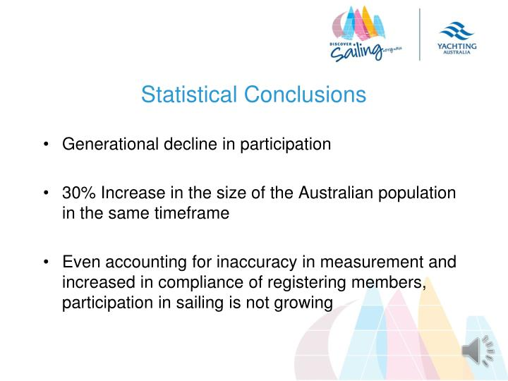 Statistical Conclusions