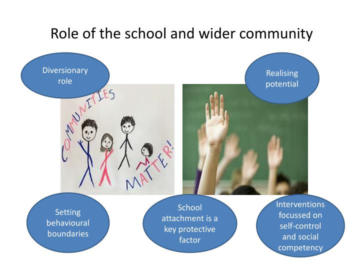 Role of the school and wider community