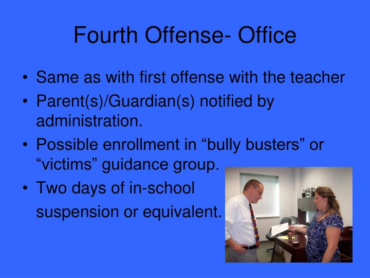 Fourth Offense- Office