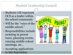 student leadership council