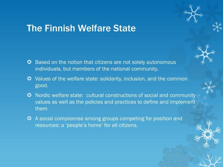 The Finnish Welfare State