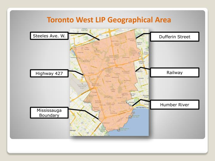 Toronto West LIP Geographical Area
