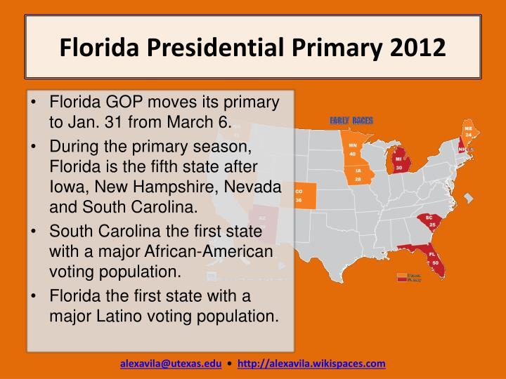 Florida Presidential Primary 2012