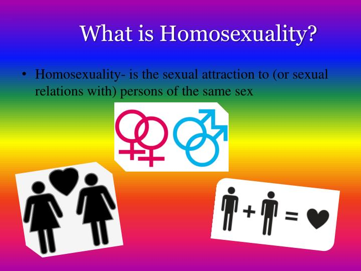 What is homosexuality