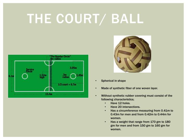 The court/ Ball