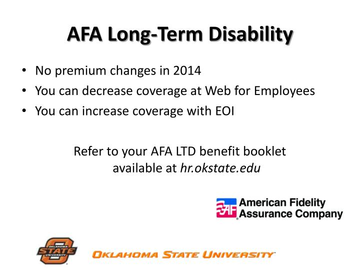 AFA Long-Term Disability