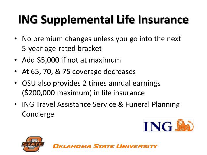 ING Supplemental Life Insurance