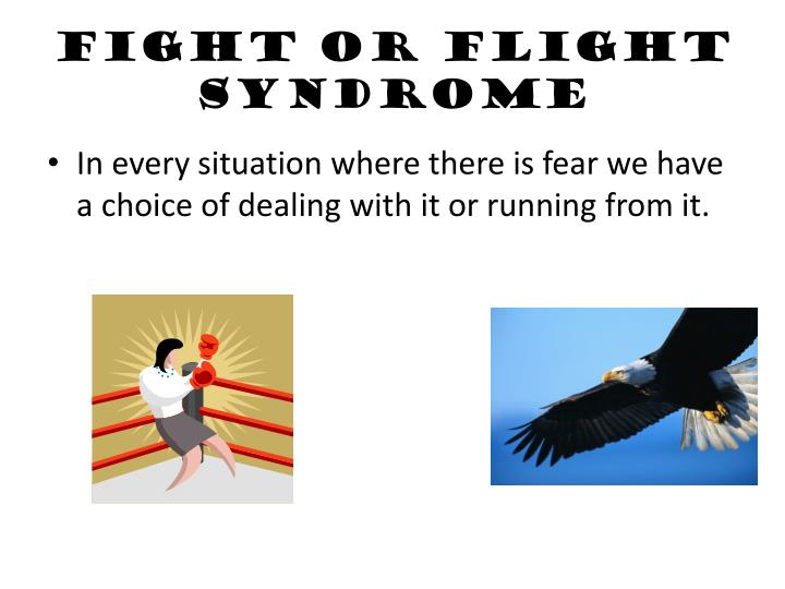 Fight or Flight Syndrome