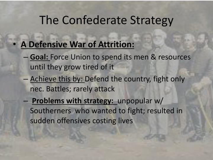The Confederate Strategy