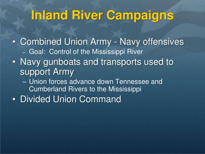 Inland River Campaigns