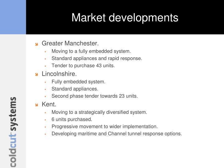 Market developments