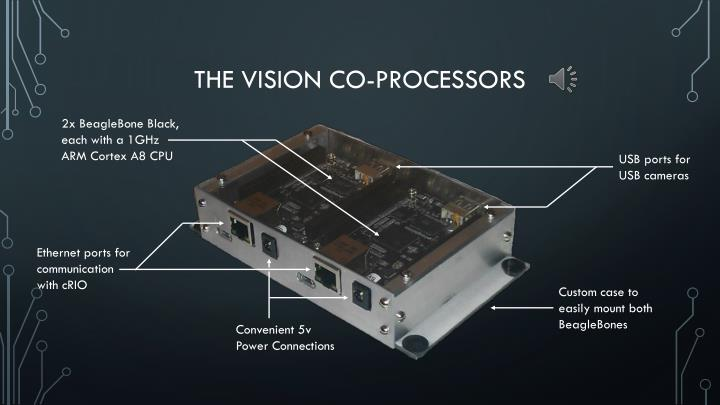 The vision co-processors