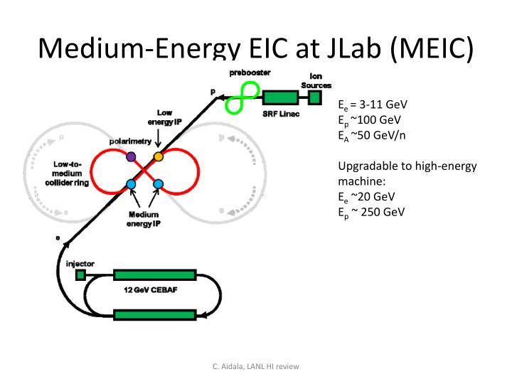 Medium-Energy EIC at