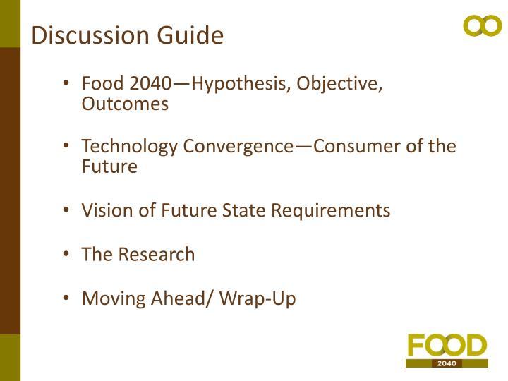 Discussion Guide