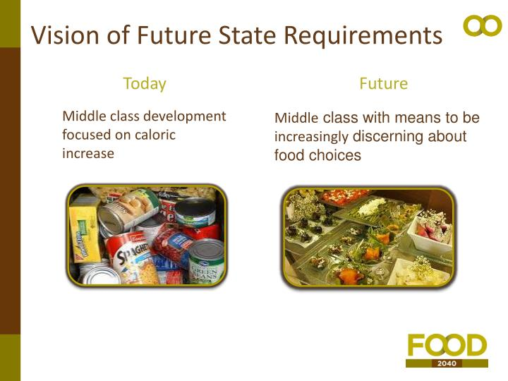Vision of Future State Requirements