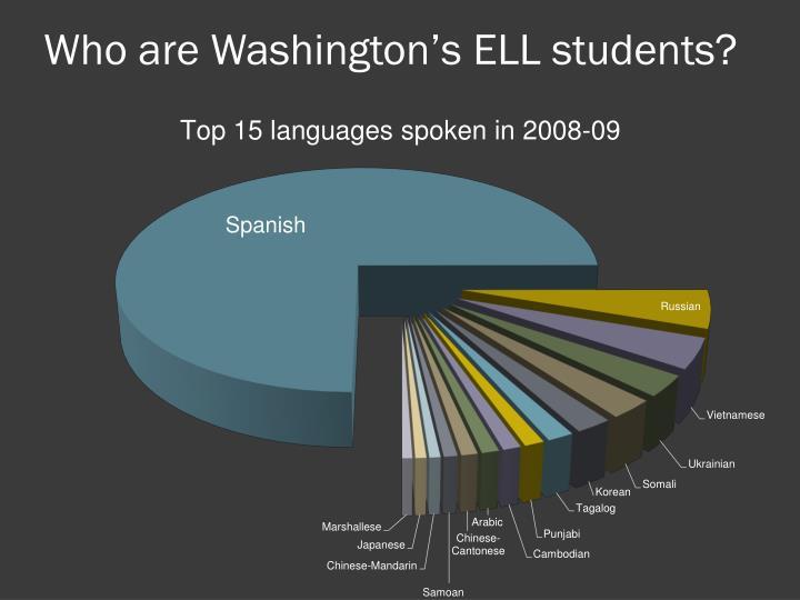 Who are Washington's ELL students?