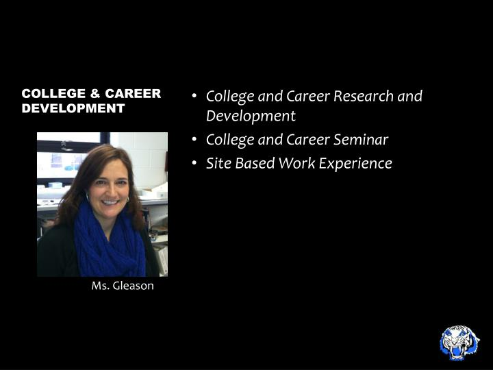 College and Career Research and Development