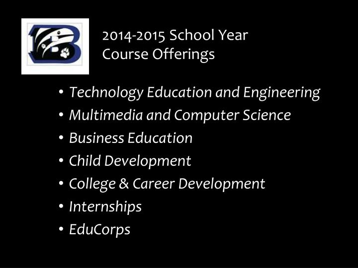 2014-2015 School Year