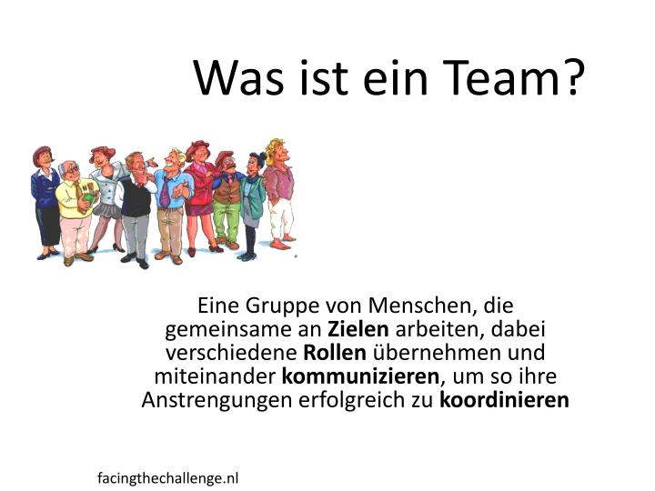 Was ist ein Team?