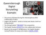 queensborough digital storytelling example