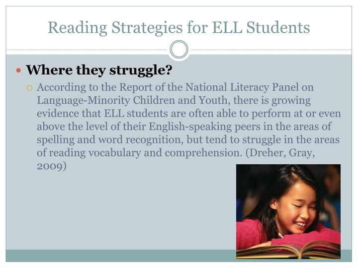 Reading Strategies for ELL Students