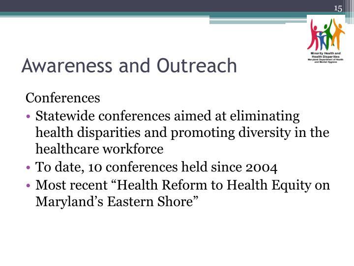 Awareness and Outreach