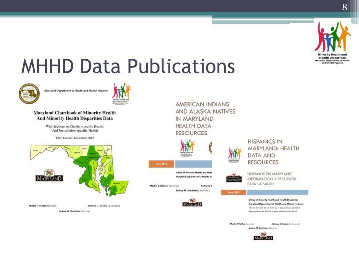 MHHD Data Publications