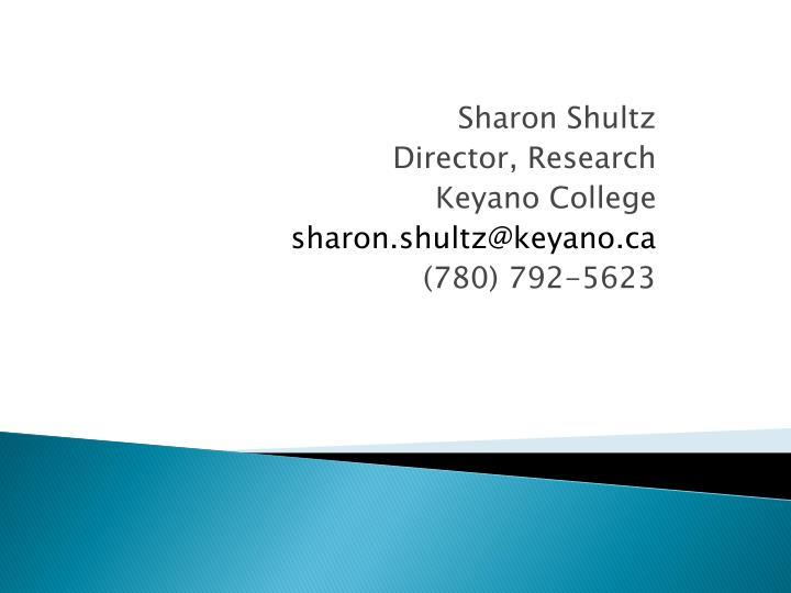 Sharon Shultz