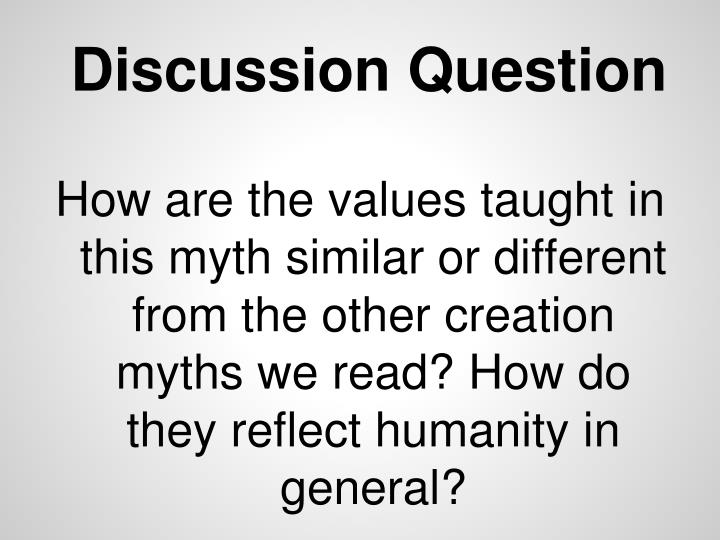 Discussion Question