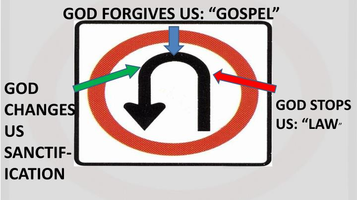 "GOD FORGIVES US: ""GOSPEL"""