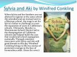 sylvia and aki by winifred conkling1