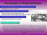 passionsspiel in wudersch buda rs