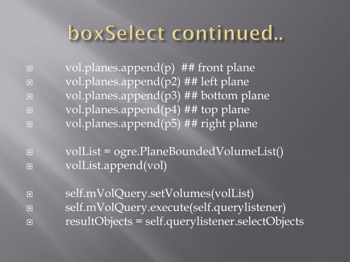 boxSelect