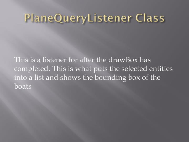 PlaneQueryListener