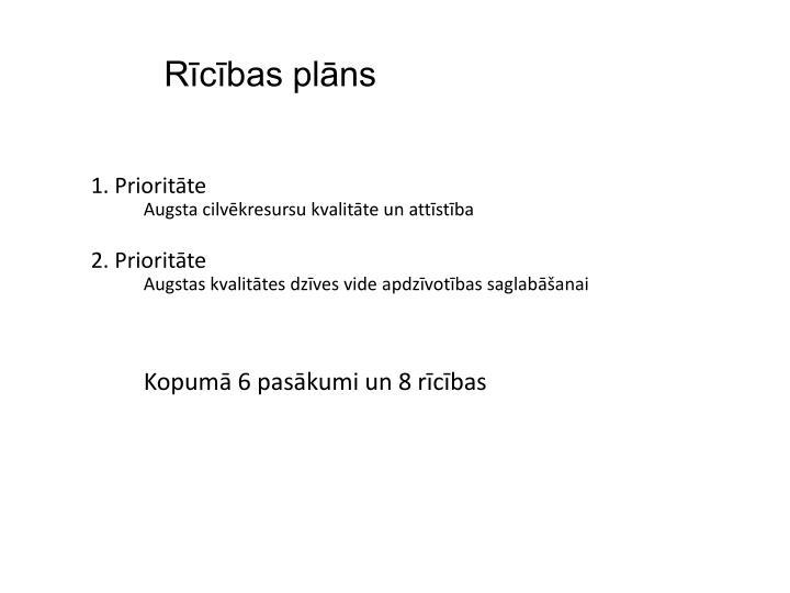 Rīcības plāns