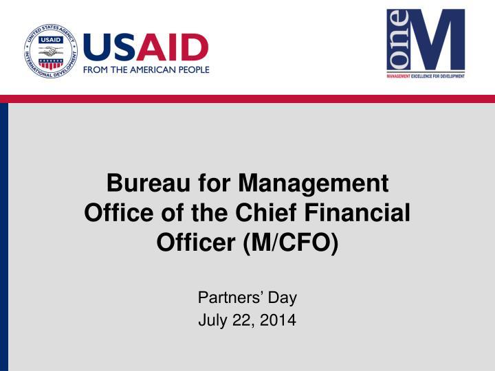 Bureau for Management